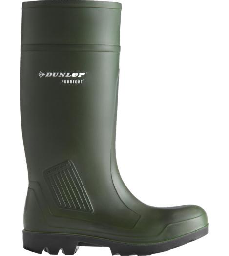 Sichherheitsstiefel S5 in grün mit Zehenschutzkappe, rutschhemmender Laufsohle und wärmendem Innenfutter