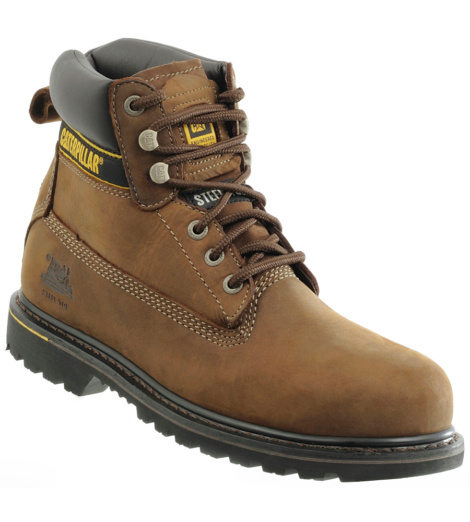 Photo de Chaussures de sécurité Caterpillar Holton S3 HRO brown