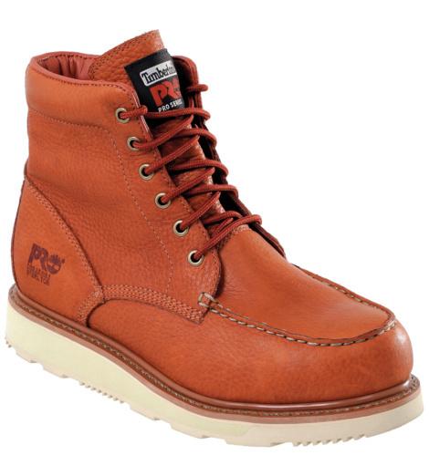 Photo de Chaussures de sécurité Timberland Pro Wedge SBP E HRO SRC brunes