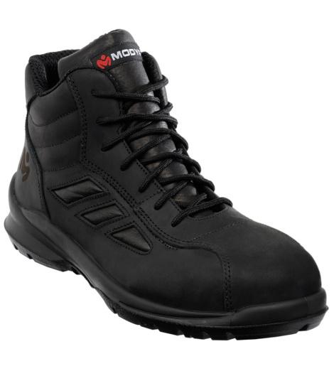Photo de Chaussures de sécurité montantes City noires S3 SRC