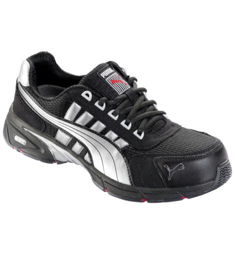 Chaussures de sécurité Puma Safety Shoes, sans métal, coussin en gel, confort et sécurité dans une basket de protection tendance