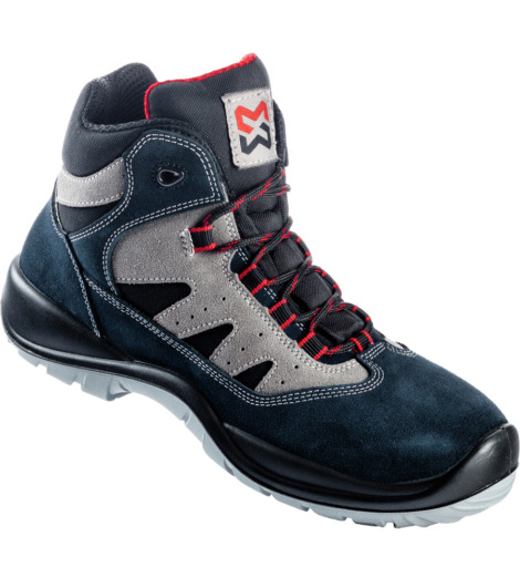 Photo de Chaussures de sécurité S1P Metal Free II montantes bleues
