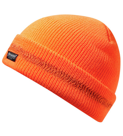 Berretto alta visibilità arancione