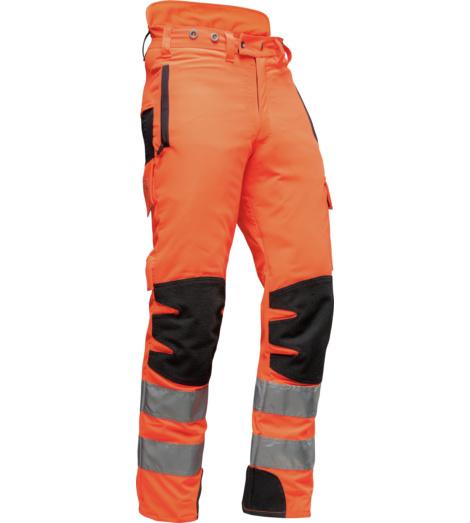 Foto von Schnittschutz Bundhose AX-MEN EN 20471 75 cm orange