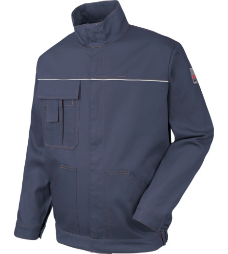Photo de Veste de travail Basic Reflex marine