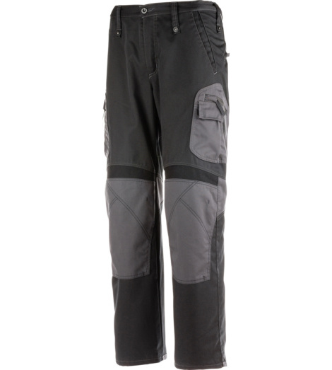 Photo de Pantalon de travail Premium Line Plus noir/gris