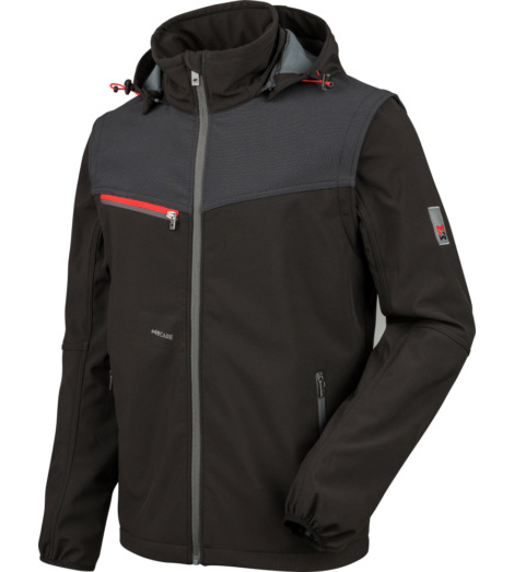 Photo de Softshell de travail Stretch X Würth MODYF noire