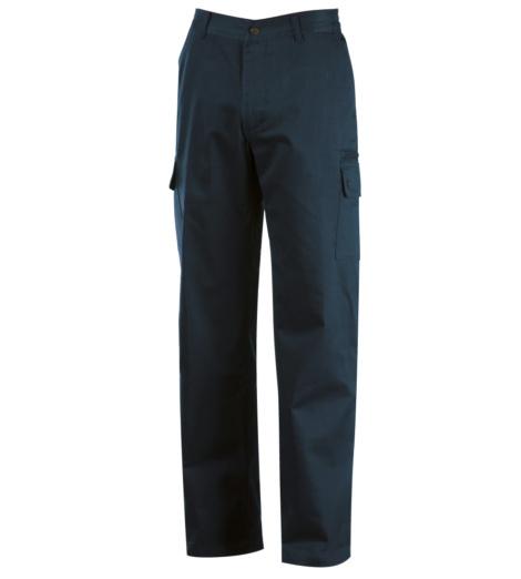 Pantalone estivo in robusto fresco drill ripstop prelavato