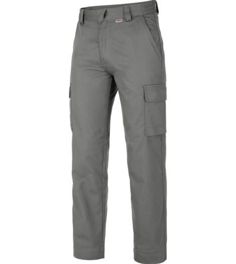 Pantalon d'hiver gris avec fermeture éclair YKK