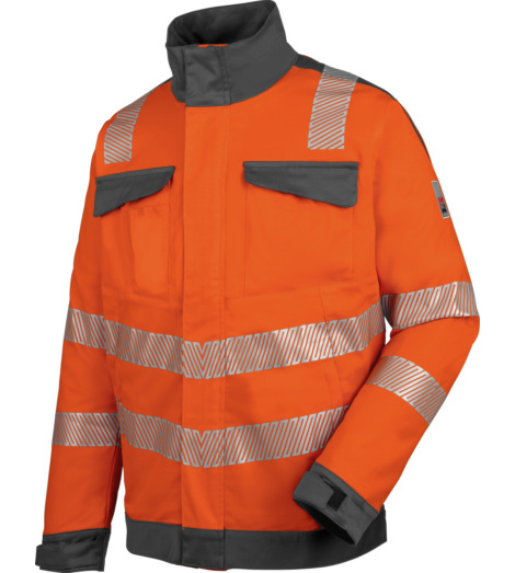 Photo de Veste de travail haute-visibilité EN 20471 3 Neon Würth MODYF orange anthracite