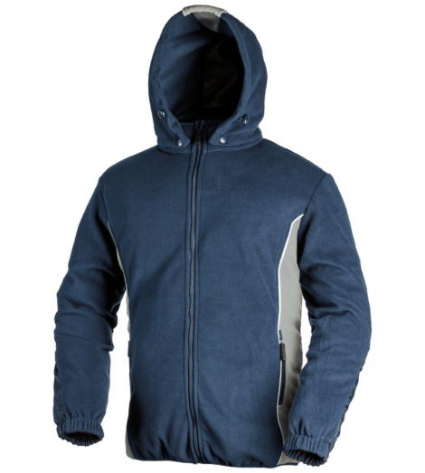 Photo de Veste polaire Warm bleue/grise