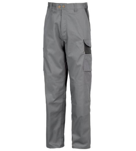 Photo de Pantalon de travail Action gris/noir