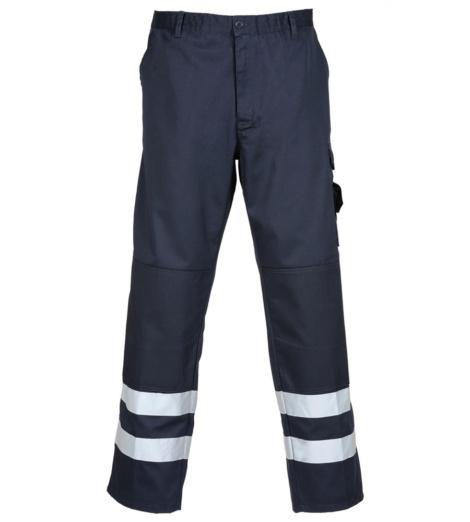 Photo de Pantalon avec bandes réfléchissantes Reflex Marine