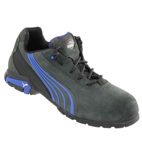 Photo de Chaussures de sécurité Puma Metro Protect S1 SRC grises/bleues