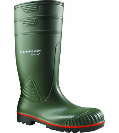 Foto de Bota Impermeable Dunlop Acifort S5 SRA Verde