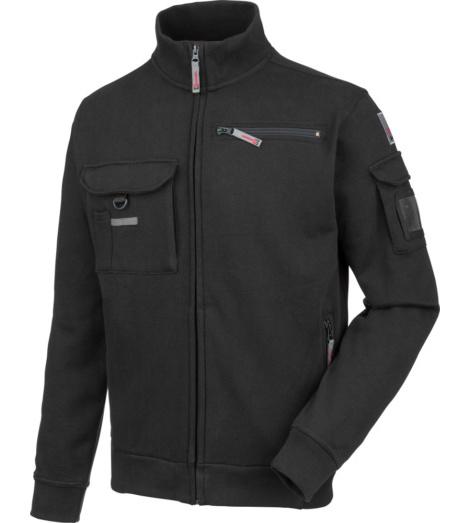 Foto van Sweater met rits Dynamic+ Würth MODYF, zwart