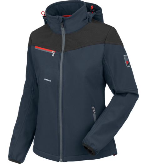 foto di Softshell Stretch X donna navy