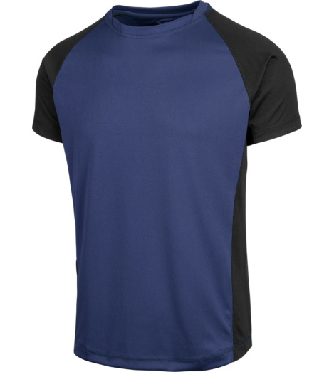 Photo de Tee-shirt Dry Tech Würth MODYF Marine/Noir
