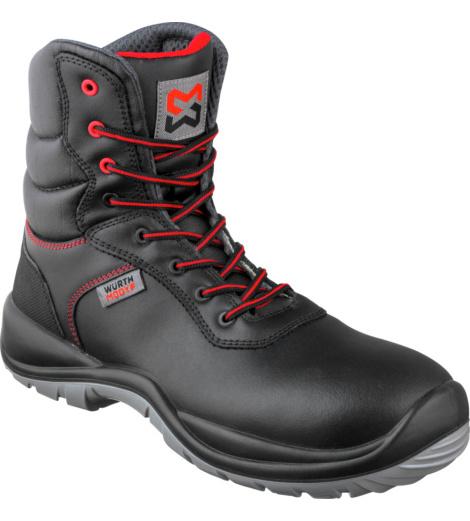 Photo de Chaussures de sécurité montantes fourrées Würth MODYF Eco S3 SRC Noires
