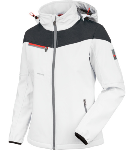 foto di Softshell Stretch X donna bianco