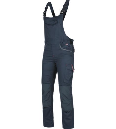 Foto von Arbeitslatzhose Stretch X Damen blau