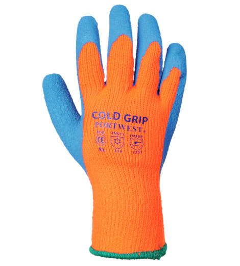 Photo de 12 paires de gants de protection Cold Grip