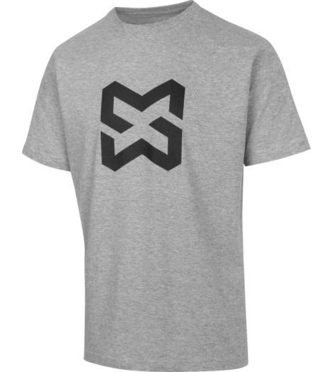 Foto von Arbeits T-Shirt Logo III grau