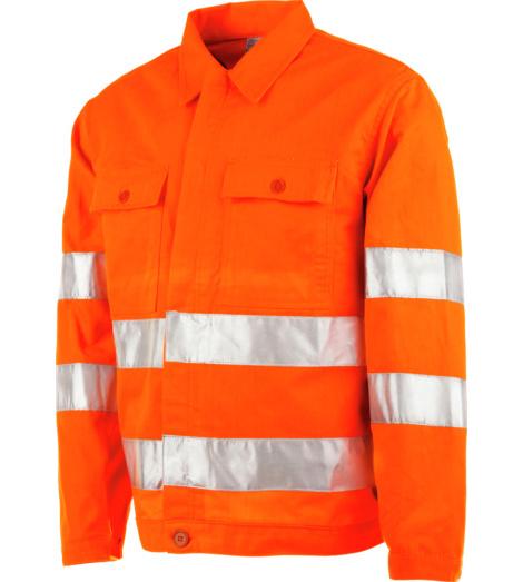 Foto von Warnschutz Bundjacke Road orange