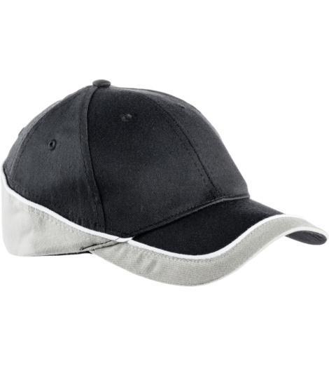 foto di Cappellino Racing nero e grigio