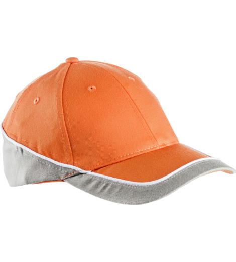 foto di Cappellino Racing arancio e grigio