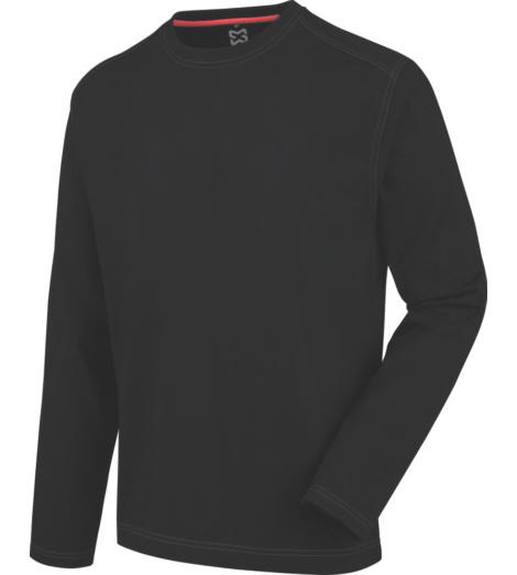 Photo de Tee-shirt de travail à manches longues Pro Würth MODYF noir