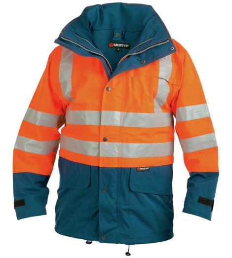Foto von Warnschutz-Parka Klasse 3 orange