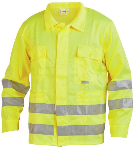 Foto von Warnschutz Bundjacke Klasse 3 gelb