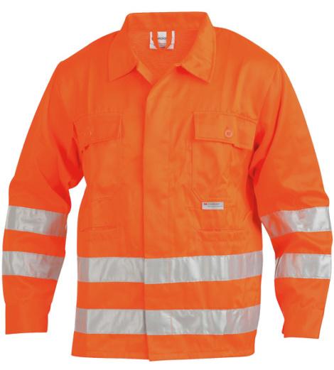 Foto von Warnschutz Bundjacke Klasse 3 orange