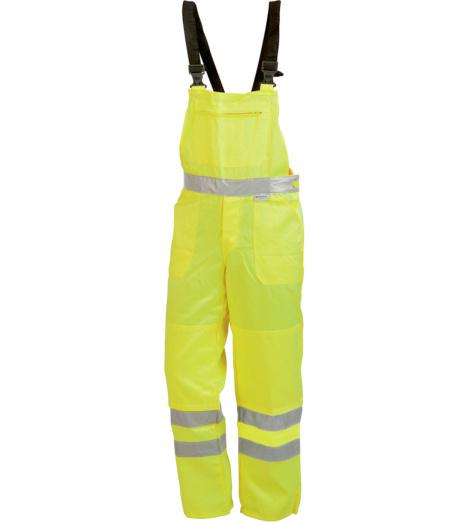 Foto von Arbeitslatzhose Warnschutz Klasse 3 gelb