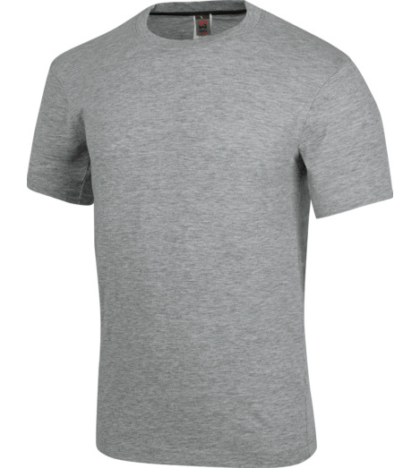 foto di T-shirt Job + grigia 100% cotone jersey