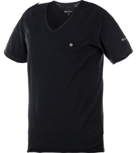 Foto von Arbeits T-Shirt Slub schwarz