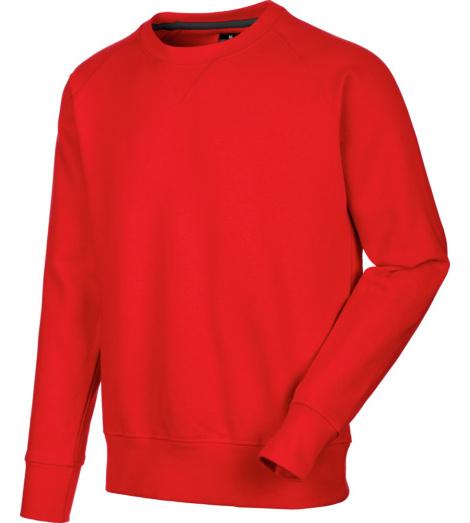 Foto von Sweatshirt Job + Rot
