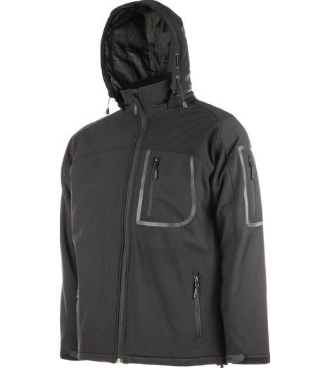 Photo de Veste Softshell chaude Run noire