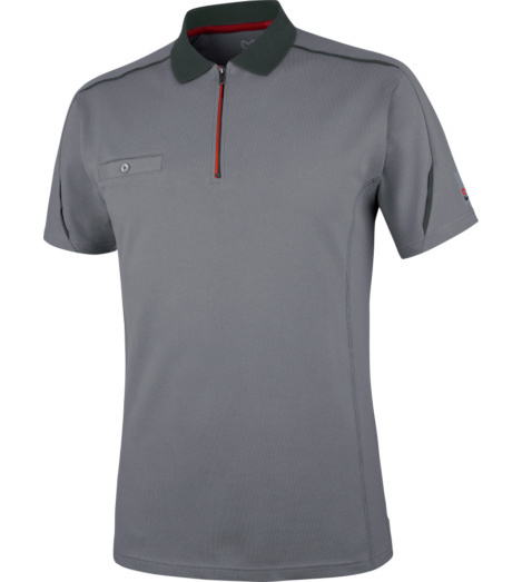 Photo de Polo de travail Stretch X Würth MODYF gris