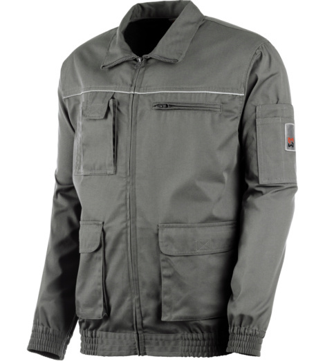 Photo de Veste de travail Classic 100% coton Gris