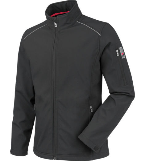 foto di Giacca softshell City nero