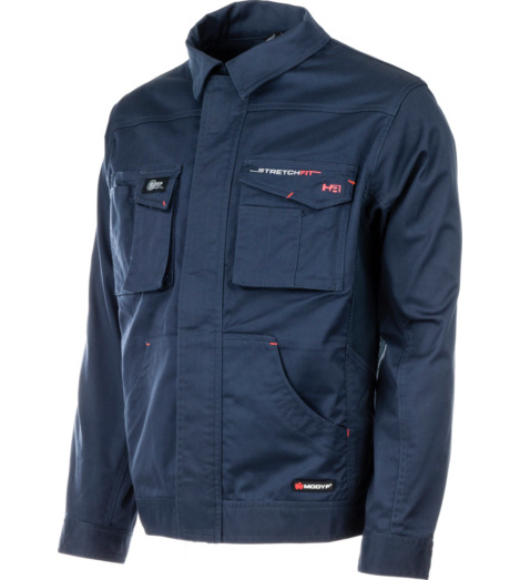 Photo de Veste de travail Stretchfit HR Würth MODYF marine