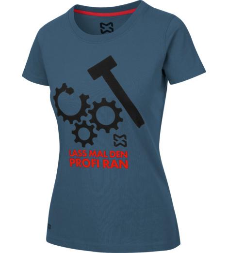 Foto von Arbeits T-Shirt Damen dunkelblau