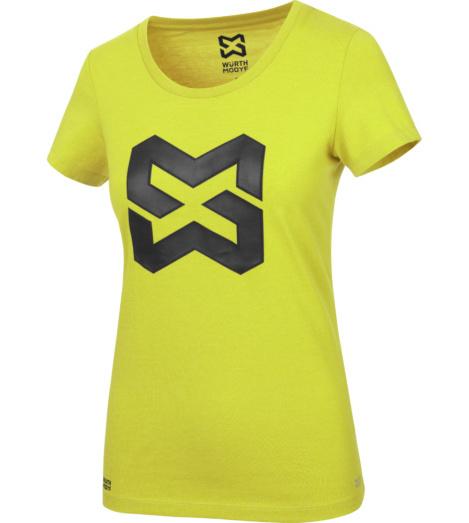 Foto von Arbeits T-Shirt Logo IV Damen lime