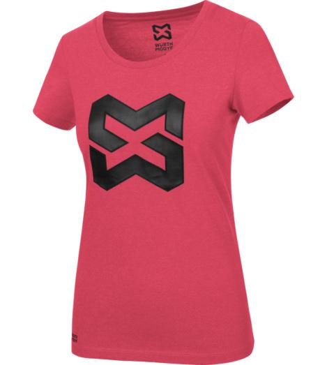 foto di T-shirt donna Logo rossa