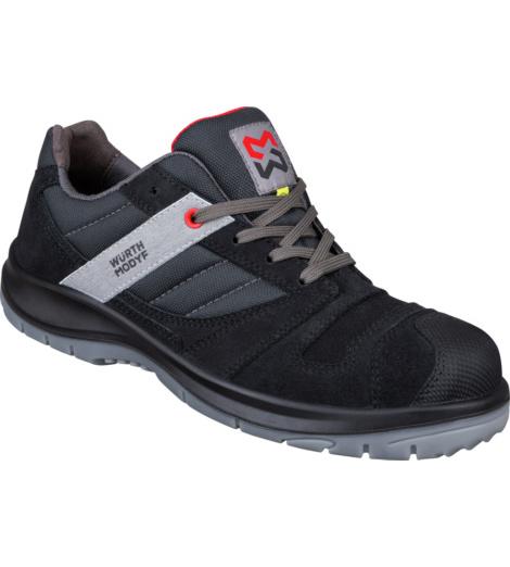 Photo de Chaussures de sécurité S3 ESD Stretch X Würth MODYF noires