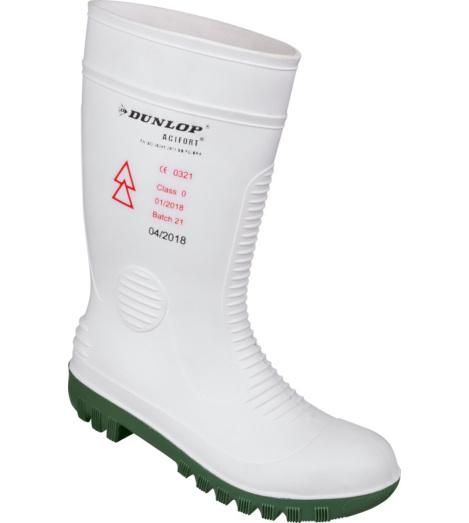 Foto von Sicherheitsstiefel Dunlop Acifort SB EN 50321 weiß