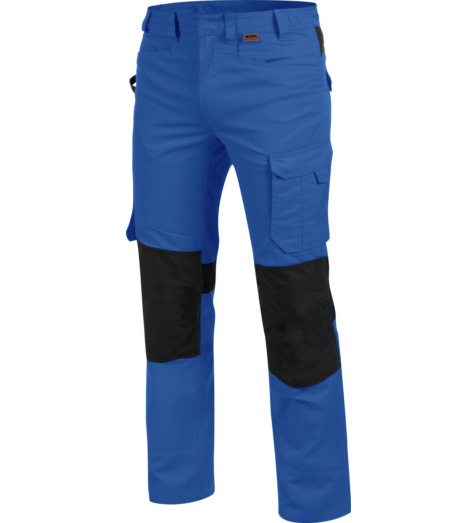 Praktische Berufshose, hautfreundliche Berufshose, trageangenehme Berufshose, Berufshose OEKOTEX 100 Standard, Berufshose blau