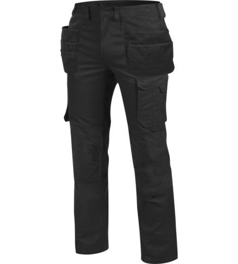 Photo de Pantalon de travail à poches Holster Cetus Würth MODYF noir